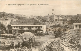 ALBANIE LESKOVICI VUE GENERALE - Albania