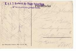 POLAND KRAKOW - K.u.K. 3 REGIMENT DER TILORE KAISERJAGER FELDKOMPAGNIE - Germany