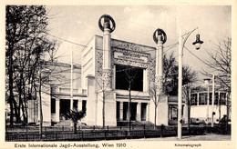 AUSTRIA / WIEN - 1910 : ERSTE INTERNATIONALE JAGD AUSSTELLUNG / EXPOSITION De CHASSE / HUNTING EXHIBITION (aa612) - Caccia