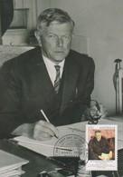Australia 2012 Nobel Prize Winners.SIR FRANK MACFARLANE BURNET, Maximum Card - Maximum Cards