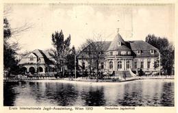 AUSTRIA / WIEN - 1910 : ERSTE INTERNATIONALE JAGD AUSSTELLUNG / EXPOSITION De CHASSE / HUNTING EXHIBITION (aa615) - Caccia