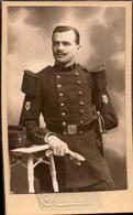CDV, Militaire, Arme, Insigne Musique, 7eme Regiment, Photo Chateauneuf       (bon Etat) - Photos