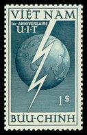 Vietnam, 1952, International Telecommunication Union, ITU, United Nations, MNH, Michel 81 - Viêt-Nam