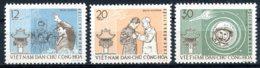 Vietnam, 1962, Space, Titov, Astronaut, Cosmonaut, MNH, Michel 217-219 - Viêt-Nam