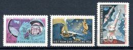 Vietnam, 1962, Space, Vostok, Rockets, MNH, Michel 240-242 - Viêt-Nam
