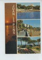 A Saisir - Multivues - Souvenir De Juan Les Pins - Obliteree En 1981 - Voir Photos - France
