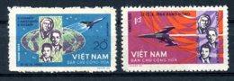 Vietnam, 1965, Space, Rockets, Astronauts, Cosmonauts, MNH, Michel 359-360 - Viêt-Nam