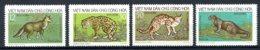 Vietnam, 1973, Animals, Fauna, MNH, Michel 719-722 - Viêt-Nam