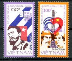 Vietnam, 1988, Cuban Revolution, Castro, MNH, Michel 1948-1949 - Viêt-Nam