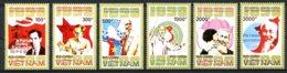 Vietnam, 1990, Ho Chi Minh Birtday, Communism, MNH, Michel 2176-2181 - Viêt-Nam