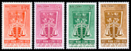 Vietnam, South, 1963, Human Rights Declaration, United Nations, MNH, Michel 300-303 - Viêt-Nam