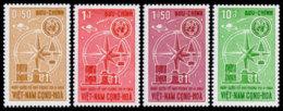 Vietnam, South, 1964, World Meteorological Day, WMO, United Nations, MNH, Michel 312-315 - Viêt-Nam