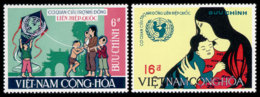 Vietnam, South, 1968, UNICEF, United Nations, MNH, Michel 414-415 - Viêt-Nam