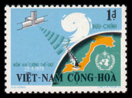 Vietnam, South, 1973, World Meteorological Organization, WMO, United Nations, MNH, Michel 525 - Viêt-Nam