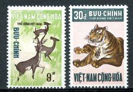 Vietnam, South, 1971, Animals, Fauna, Tiger, MNH, Michel 474-475 - Viêt-Nam