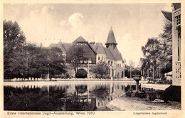 AUSTRIA / WIEN - 1910 : ERSTE INTERNATIONALE JAGD AUSSTELLUNG / EXPOSITION De CHASSE / HUNTING EXHIBITION (aa618) - Caccia