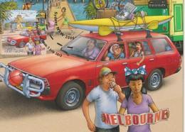 Australia 2013 Road Trip,Melbourne, Maximum Card - Maximum Cards