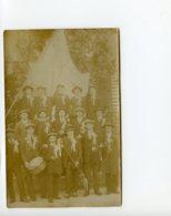 A Saisir - Photo Ancienne - Carte Photo - Groupe De Musiciens  - Voir Photos - Photos