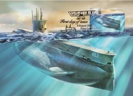 Australia 2014 Centenary Of Submarines,, Maximum Card - Maximum Cards
