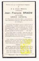 DP Jean F. Braem ° Wijtschate Heuvelland 1843 † Messines Mesen 1931 X Léonie Lepercq - Images Religieuses