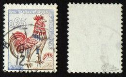 N° 1331d 25c COQ FLUO TB Cote 65€ Signé Calves - 1962-65 Cock Of Decaris