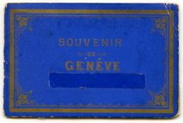 A Saisir - Souvenir De Geneve - Petit Carnet Depliant Souvenir De Photographies - Voir Photos - Photographie