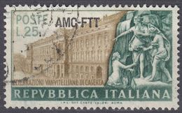 TRIESTE ZONA A - 1952 - Yvert 133 Usato. - 7. Trieste