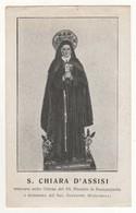 Santino Antico Santa Chiara Da Roccarainola - Napoli - Religion & Esotericism