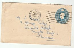 1951 Bromley Beckenham POSTAL STATIONERY COVER Gb Stamps - Stamped Stationery, Airletters & Aerogrammes