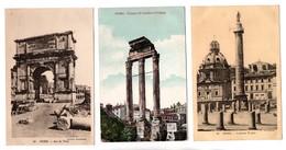 ITALIE . ROME . 3 CARTES POSTALES - Réf. N°20414 - - Roma (Rome)