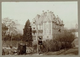 Lot 3 Photos Du Château Ungerstein à Guebwiller Alsace Haut-Rhin - 3 Scans - Lieux