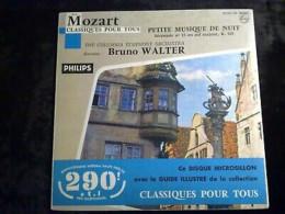Mozart: Petite Musique De Nuit, Direction: Bruno Walter/ 45T Philips 99.843 - Classique