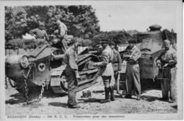 Trois CPA Du 506e R.C.C. Besançon (Régt De Chars De Combat) - Non Circulées. TB état. 3 Scan - Besancon