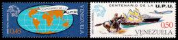 Venezuela, 1974, UPU Centenary, Universal Postal Union, United Nations, MNH, Michel 1988-1989 - Venezuela