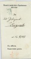 KuK Mährisches Appellationsgericht Brünn Nach Eisengrub Causa Jacob Seeleitner 1845 Rs Lundenburg - ...-1850 Voorfilatelie