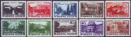 ROSSIA - RUSSIA - Mi. 1371/80  SKA  HOSPITALS  ARCHITECTURE - **MNH - 1949 - 1923-1991 URSS