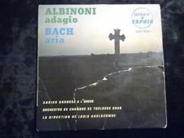Albinoni: Adagio - Bach: Aria/ 45t Saphir LDP 5090 - Classique