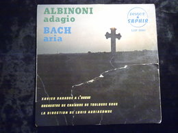 Albinoni: Adagio - Bach: Aria/ 45t Saphir LDP 5090 - Klassik