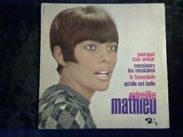 Mireille Mathieu: Pourquoi Mon Amour-Messieurs Les Musiciens/ 45t Barclay 70 996 - Classique