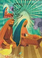 Australia 2015 Christmas,The Nativity, Maximum Card, - Maximum Cards