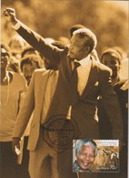Australia 2015 Hounered By Australia,Nelson Mandela, Maximum Card - Maximum Cards