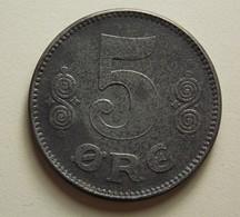 Denmark 5 Ore 1918 - Danemark