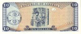 LIBERIA P. 22 10 D 1999 UNC - Liberia