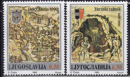Yugoslavia 1990 500th Anniversary Of Idrija, MNH (**) - Neufs