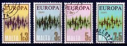 Malta Mi 450,453  Europa Cept 1972 Gestempeld Fine Used - 1972
