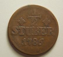 Germany Julich-Berg 1/2 Stuber 1786 - [ 1] …-1871 : Etats Allemands
