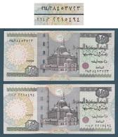 """Egypt - 2012 - Scarce - Prefix """"264"""" - Normal & Space Out - ( 20 EGP - Pick-65 ) - #21b ( OKDA ) - UNC - Egypte"""