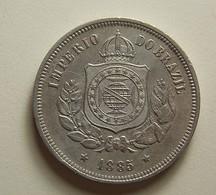 Brazil 100 Reis 1885 - Brésil