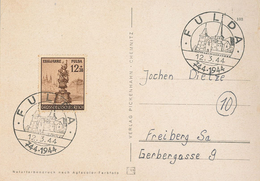 Fulda 1944 Sonderstempel - Allemagne