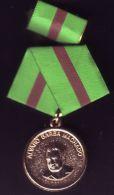 *O81 CUBA MEDAL ALVARO BARBA MACHADO - Tokens & Medals
